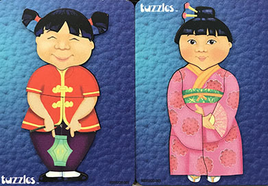 K8267: Traditional Costume Puzzles