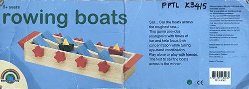 K3415: Rowing Boats