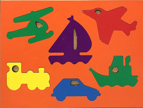 T8144: Transport Colour Puzzle