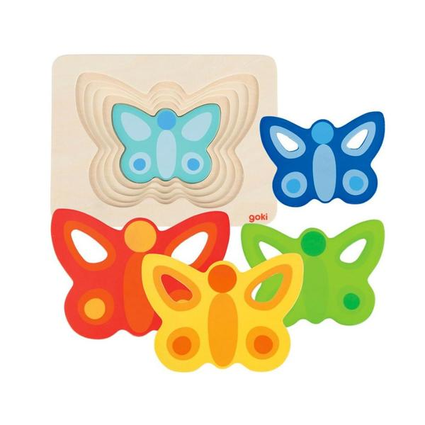 K8110: 5 Layer Butterfly Puzzle