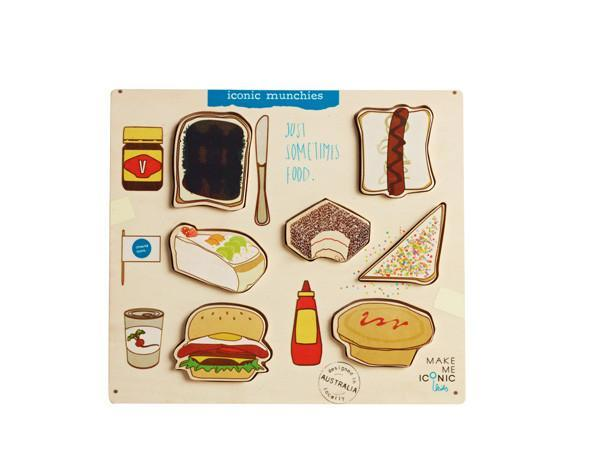 T8150: Iconic Munchies Puzzle