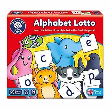 K9302: Alphabet Lotto