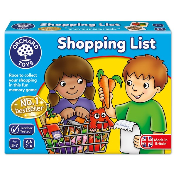 S955: Shopping List Game