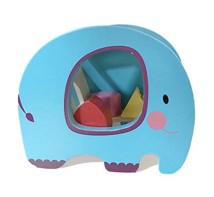 B3413: Elephant Shape Fitting Toy