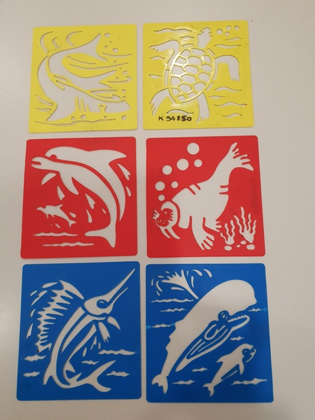 K34150: Ocean Creature Stencils
