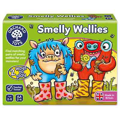 T411: Smelly Wellies Game