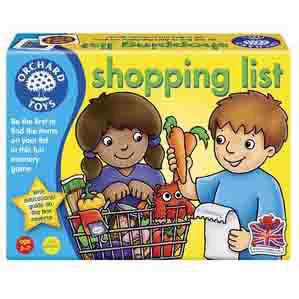 K9612: Shopping List