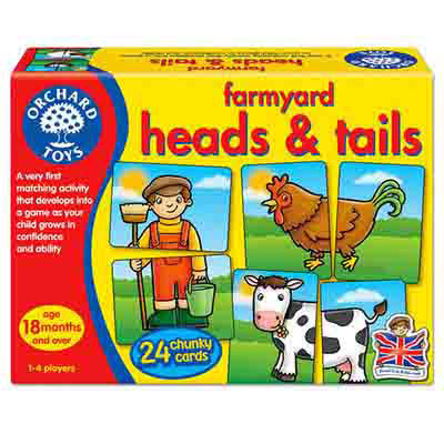 K9429: Farmyard Heads and Tails