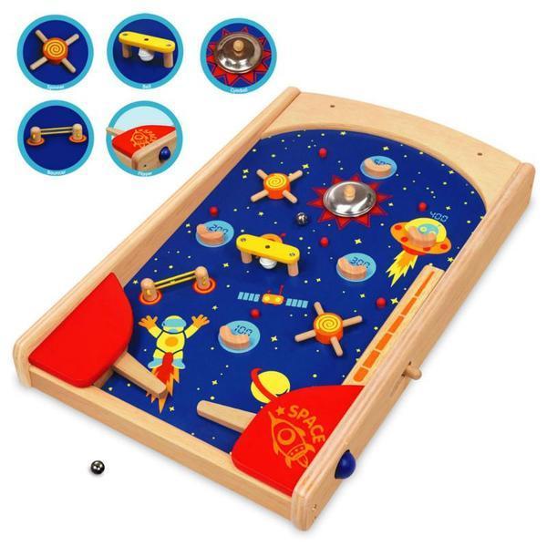 K341350: Wooden Space Pinball