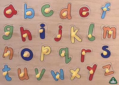 K8115: Alphabet Puzzle