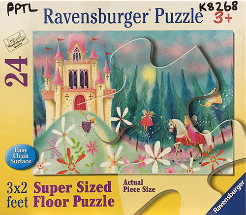 K8268: Fairy Castle Floor Puzzle