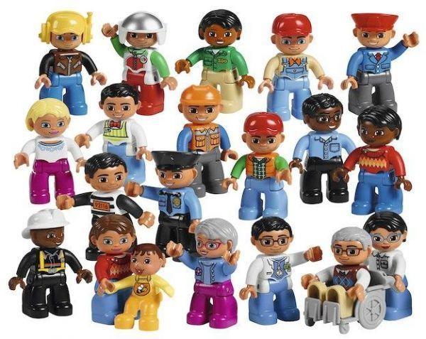 K5321: Lego Education Community People Set
