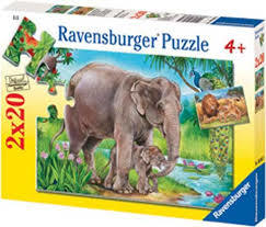 K8271: Elephant and Lion Puzzles
