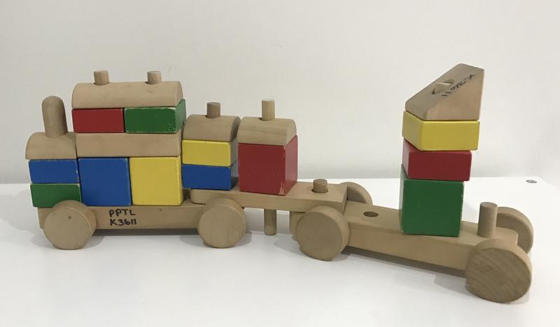 K3611: Giant Sorting Block Train