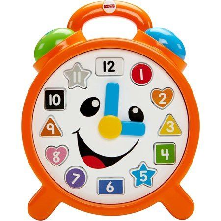 T4117: Laugh and Learn Counting Colours Clock