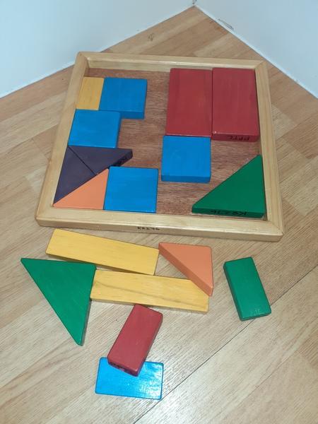 K8276: Wooden Shape Puzzle