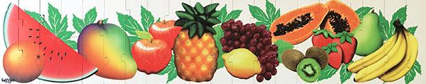 K8220: Fruit Floor Puzzle