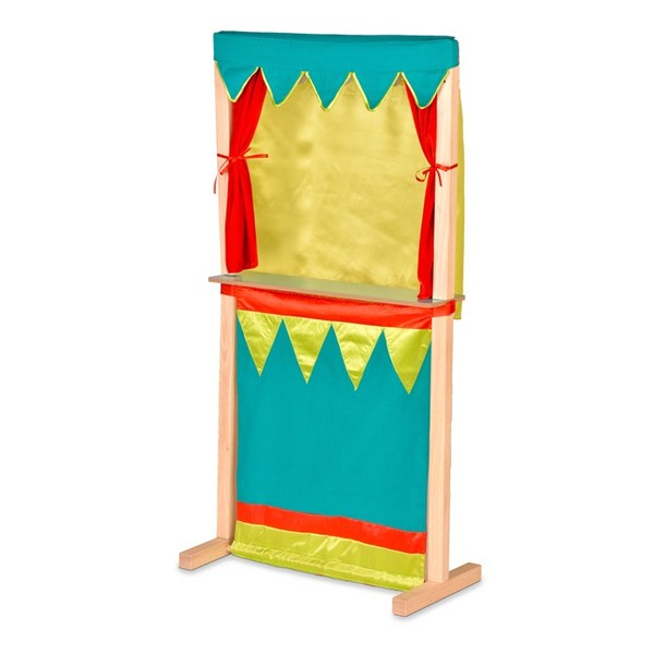 K5206: Puppet Theatre Plus Bag of Puppets