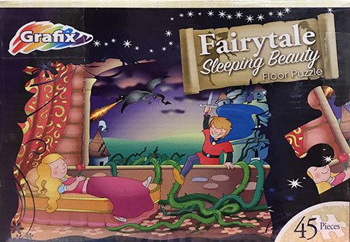 K8312: Fairytale Sleeping Beauty Floor Puzzle