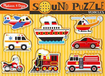 T8122: Sound Puzzle - Vehicles