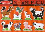 T8125: Sound Puzzle  - Farm Animals