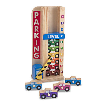 K4302: Stack and Count Parking Garage