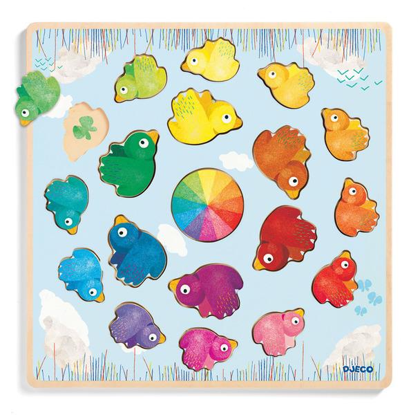 T8149: Rainbow Bird Puzzle