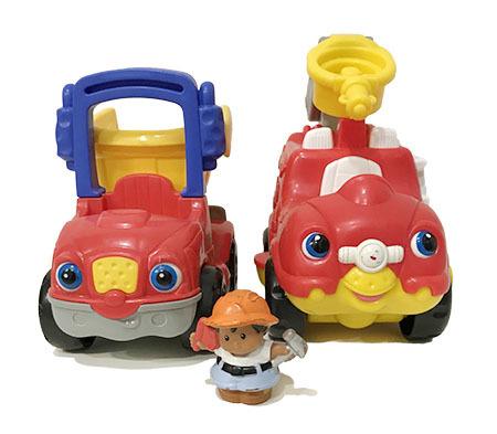 T5418: Musical Toddler Trucks
