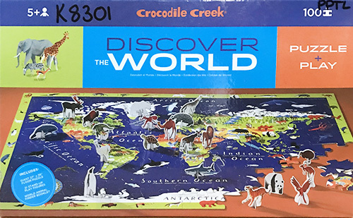 K8301: Discover The World Puzzle