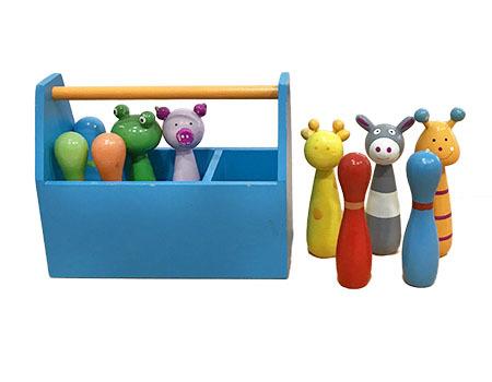 K3412: Animal Bowling Set