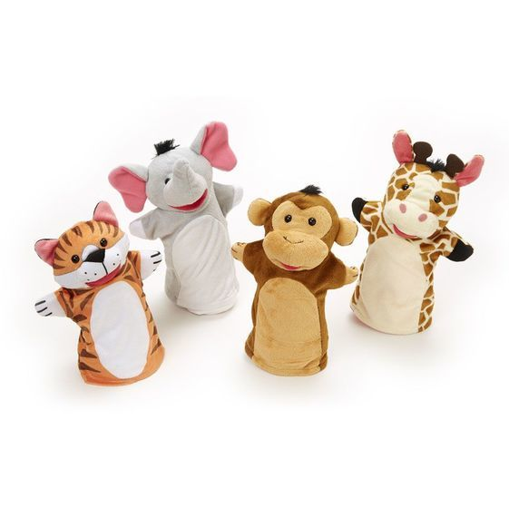 T5205: Zoo Friends Hand Puppets