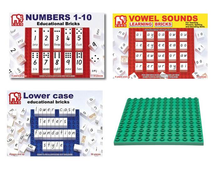 K4303: Phonic Learning Bricks