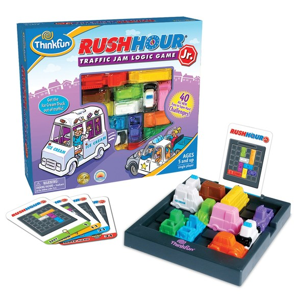 S9418: Rush Hour Traffic Jam Logic Game Junior