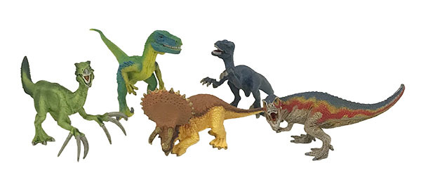 K5515: Dinosaurs Set of 6