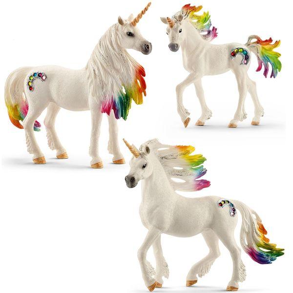 K5311: Rainbow Unicorn Family