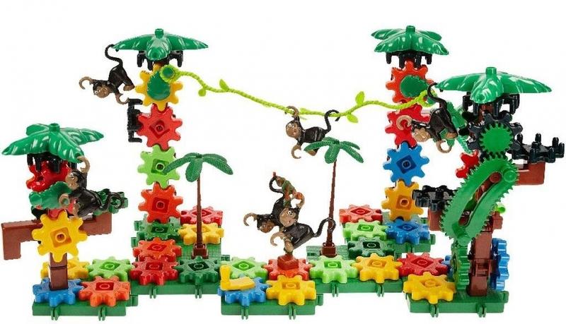 K3107: Movin' Monkeys Building Set