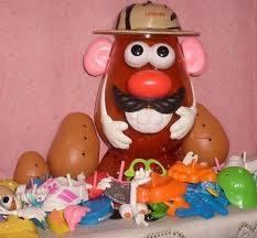 K3417: Large Mr Potato Head