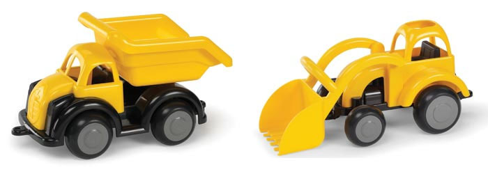 T5450: Dump truck and Digger