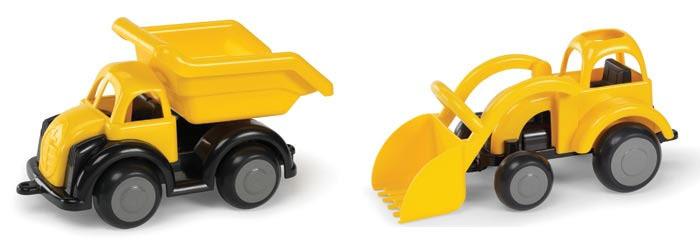 T5451: Dump Truck and Digger