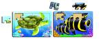 K8213: Turtle & Fish Puzzle