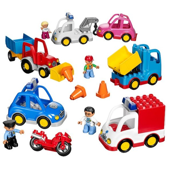 T5457: Lego Education Multi Vehicles
