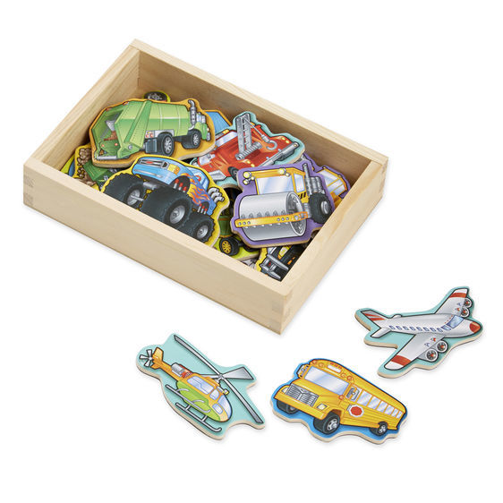 T5310: Wooden Vehicle Magnets