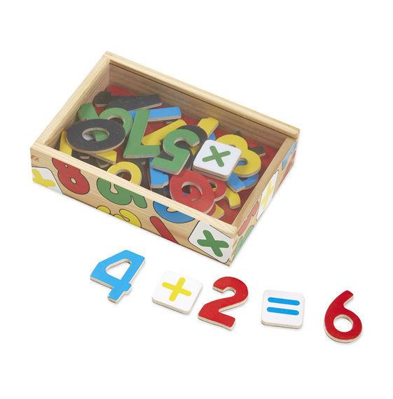 K4305: Wooden Number Magnets