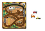 T5460: Construction Transport Mat and Cars