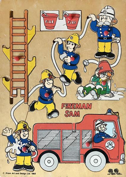 T2277: Fireman Sam Puzzle