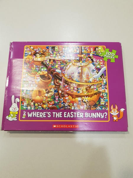 S8209: Where's The Easter Bunny? Puzzle