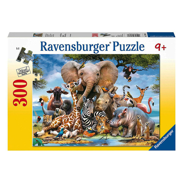 S8212: African Friends Puzzle