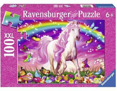 S8214: Amazing Unicorns Glitter Puzzle