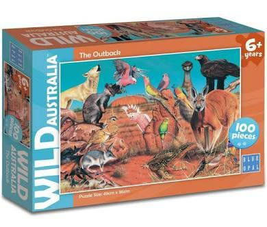 S8215: Wild Australia - The Outback Puzzle