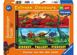 K8238: Extreme Dinosaurs Floor Puzzle
